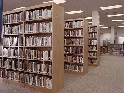 Most Recently Released Free Standing Bookcases Inside Library Furniture Bookcases And Shelving (View 2 of 15)