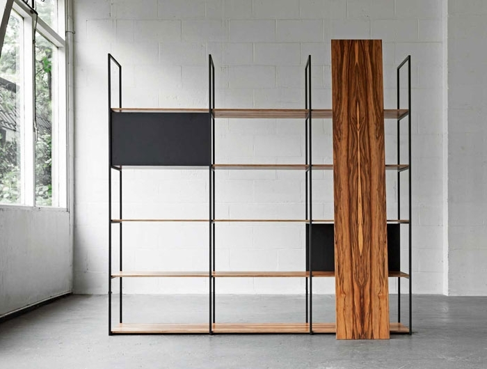Most Recently Released Freestanding Bookcases Wall In 34 Freestanding Shelving Systems That Double As Room Dividers – Vurni (View 15 of 15)
