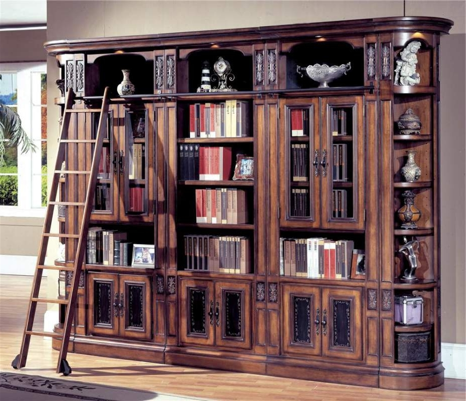 Most Recently Released Glass Door Bookcases In Dark Wood Bookcase With Glass Doors Wooden House Glass Door (View 9 of 15)
