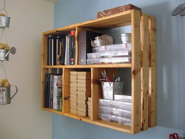 Most Recently Released Homemade Bookcases Regarding Homemade Bookshelf Ideas Ipodlive (View 12 of 15)