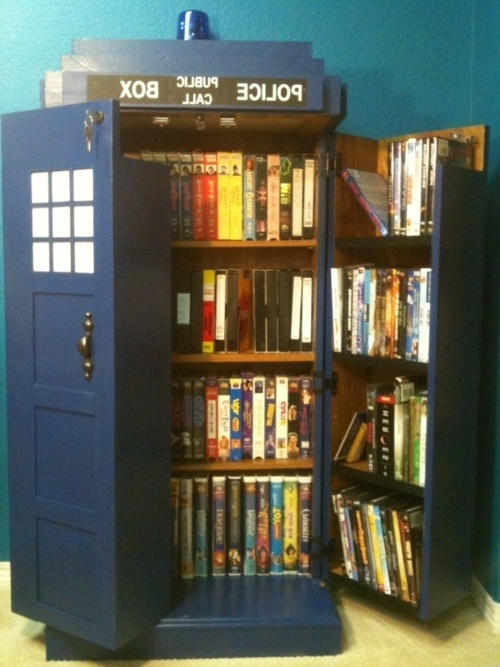 Most Recently Released It's A Tardis Bookshelf!!!!! If My Hubby Sees This, I Know I'm In Tardis Bookcases (View 3 of 15)
