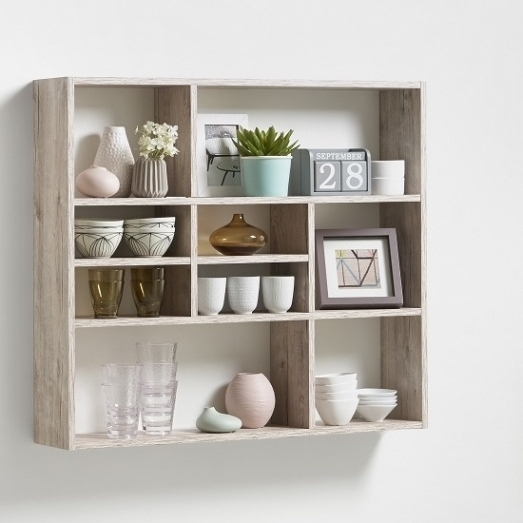 Most Recently Released Oak Wall Shelving Units Within Living Room Oak Wall Shelving Units Regarding Handmade Unit Best (View 7 of 15)