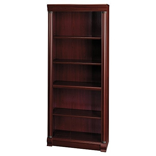 Most Recently Released Solid Wood Bookshelf: Amazon Pertaining To Solid Oak Bookcases (View 6 of 15)
