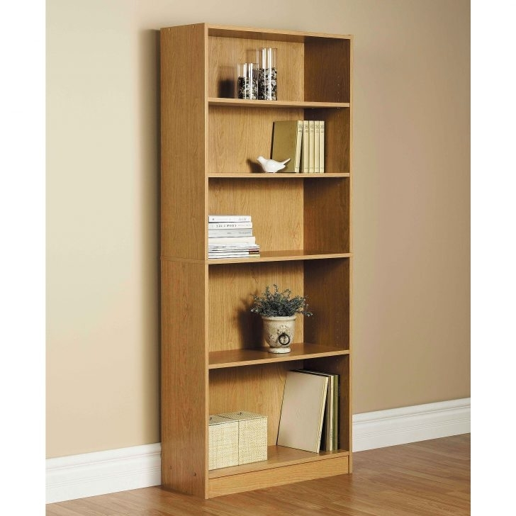 Most Recently Released Walmart 3 Shelf Bookcases For Mainstays 2 Tier Writing Desk & 3 Shelf Bookcase, Multiple (View 6 of 15)