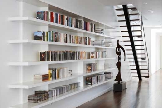 Most Recently Released White Bookcases Intended For White Bookcases (Gallery 15 of 15)