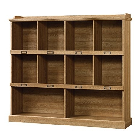 Most Up To Date Amazon: Sauder Barrister Lane Bookcase, Scribed Oak Finish Throughout Barrister Lane Bookcases (View 12 of 15)