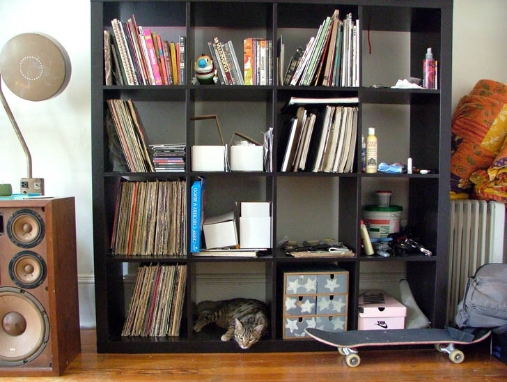 Most Up To Date Black Expedit Bookshelf « Inhabitat – Green Design, Innovation In Expedit Bookcases (View 13 of 15)