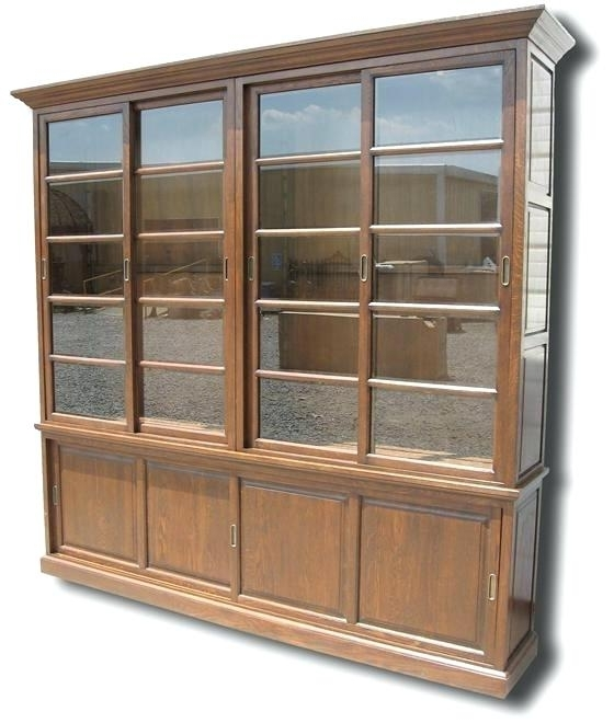 Most Up To Date Bookcase Glass Door Wood Bookcases With Sliding Glass Doors Solid Intended For Bookcases With Sliding Glass Doors (View 13 of 15)