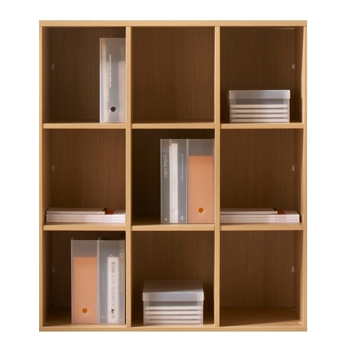 Most Up To Date Bookcases Flat Pack Within Wooden Office Bookcases & Magazine Display Units (View 11 of 15)