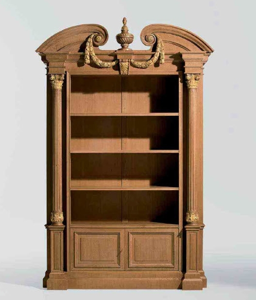 Most Up To Date Classic Bookcase / Wooden – Mg 1110/rov – Oak Design Throughout Classic Bookshelves Design (View 8 of 15)