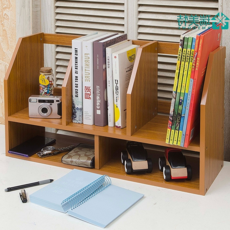 Most Up To Date Desktop Bookcases For Creative Simple Rui Us Special Small Desktop Bookshelf Desk Small (View 11 of 15)