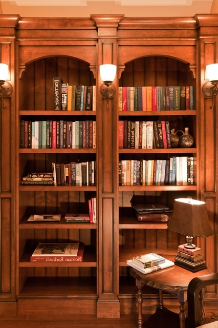 Most Up To Date Hallway Bookshelf – Traditional – Hall – Vancouver Old World Within Traditional Bookshelves (View 2 of 15)