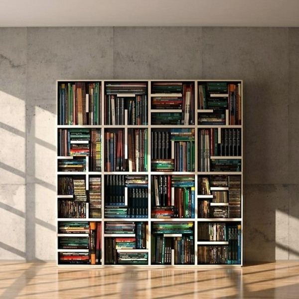 Most Up To Date Home Shelving Systems With Stylish Bookcase Systems Make Your Home Comfortable (View 9 of 15)