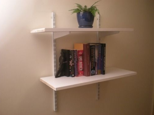 Most Up To Date Installing Bookshelves On The Cheap: 4 Steps With Regard To Cheap Bookshelves (View 11 of 15)