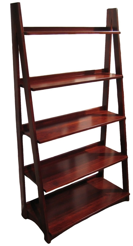 Most Up To Date Ladder Bookcase – Ohio Hardword & Upholstered Furniture With Ladder Bookcases (View 4 of 15)