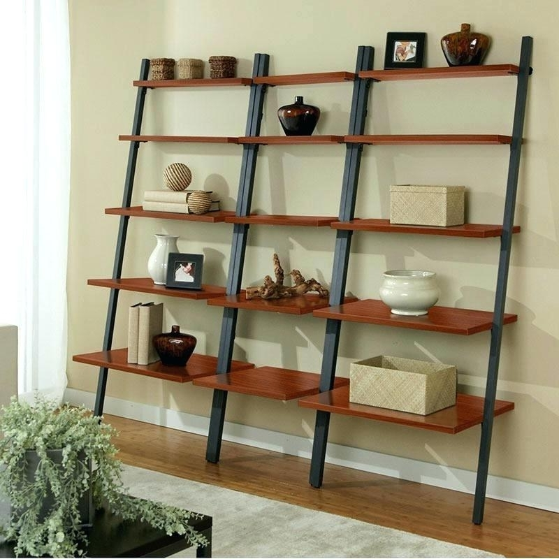 Most Up To Date Leaning Bookcases With Leaning Bookshelf Ikea – Dynamicpeople (View 2 of 15)