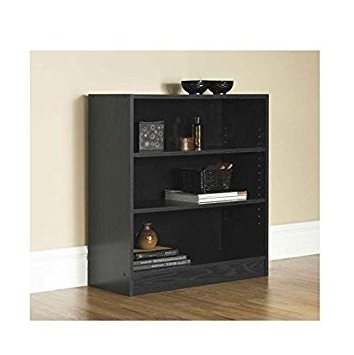 Most Up To Date Mainstays 3 Shelf Standard Bookcase Multiple Colors Walmart Ideas With Walmart 3 Shelf Bookcases (View 8 of 15)