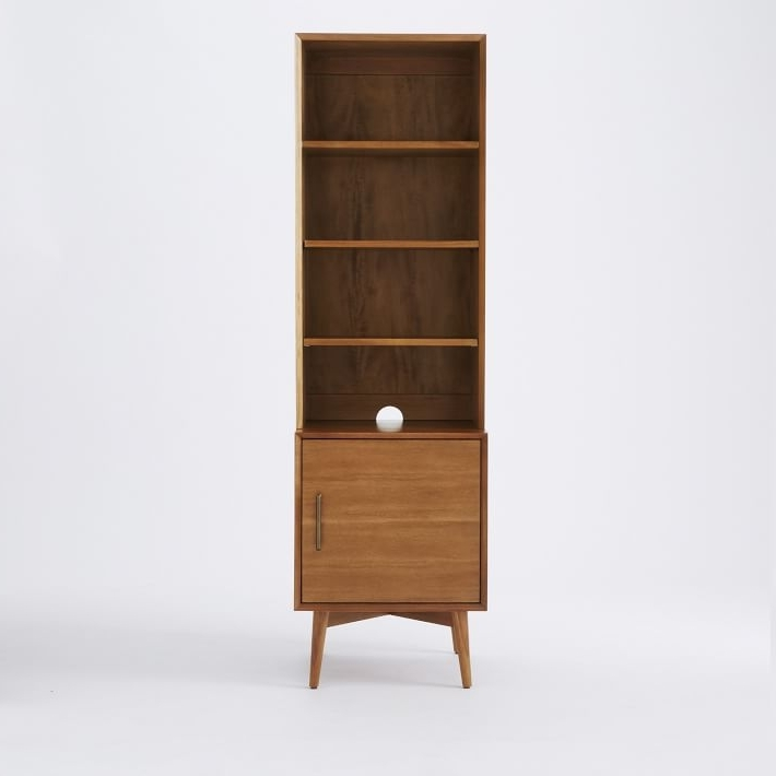 Most Up To Date Midcentury Bookcases Pertaining To Mid Century Bookcases – Acorn (View 6 of 15)