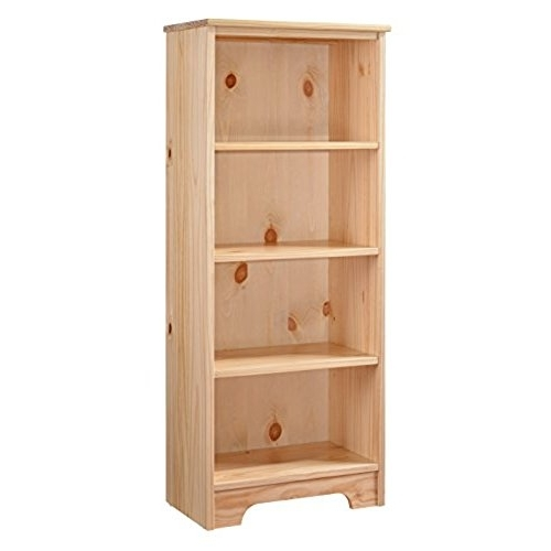 Most Up To Date Solid Wood Bookcases Pertaining To Solid Wood Bookshelf: Amazon (View 11 of 15)