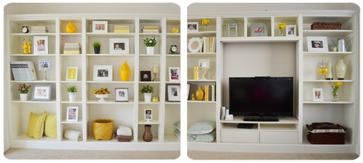 Most Up To Date This Awesome Site Takes Ikea Furniture And Turns It Into Nuch With Regard To Bookcases With Tv Space (View 11 of 15)