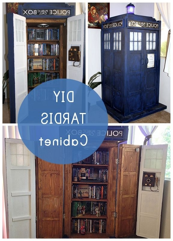 Most Up To Date This Tardis Bookshelf Has Working Lights And A Soundboard – So The Throughout Tardis Bookcases (View 6 of 15)