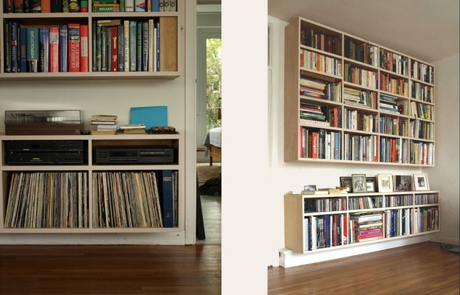 N B Crossling – Bespoke Handmade Bookcases Bristol With Most Recently Released Floating Bookcases (View 12 of 15)