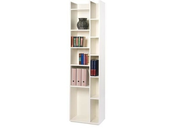 Narrow White Bookcase – Narrow Bookcase With Some Unique And Within Fashionable Narrow Bookcases (View 8 of 15)