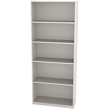 Newest Amazon: Ameriwood 5 Shelf Bookcase, White Stipple: Kitchen With Regard To Ameriwood 5 Shelf Bookcases (View 10 of 15)