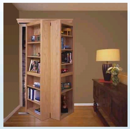 Newest Bifold Bookcases Pertaining To Sliding Bookshelf – Finish Carpentry – Contractor Talk (View 13 of 15)