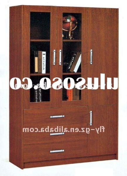 Newest Book Cupboard Designs Throughout Modern Book Cabinet Design (Gallery  9 Of 15)