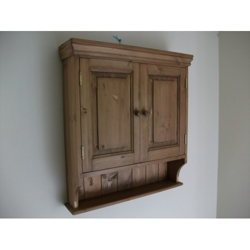 Newest Door Pine Wall Cabinet. W65Cm (View 8 of 15)