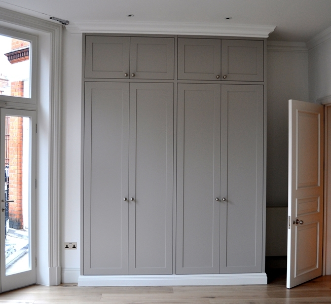 Newest Fitted Wooden Wardrobes In Bespoke Fitted Wardrobes West London (View 13 of 15)