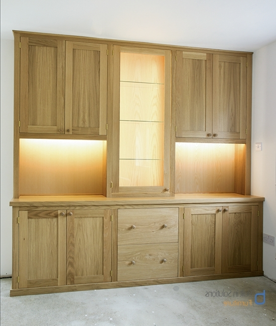 Newest Gorgeous Built In Cupboards In Your Living Room With Regard To Fitted Cabinets (View 12 of 15)