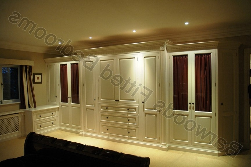 Newest Solid Wood Fitted Wardrobes With Beautiful Solid Wood Built In Wardrobes – Bedroom Armoire Wardrobe (View 11 of 15)