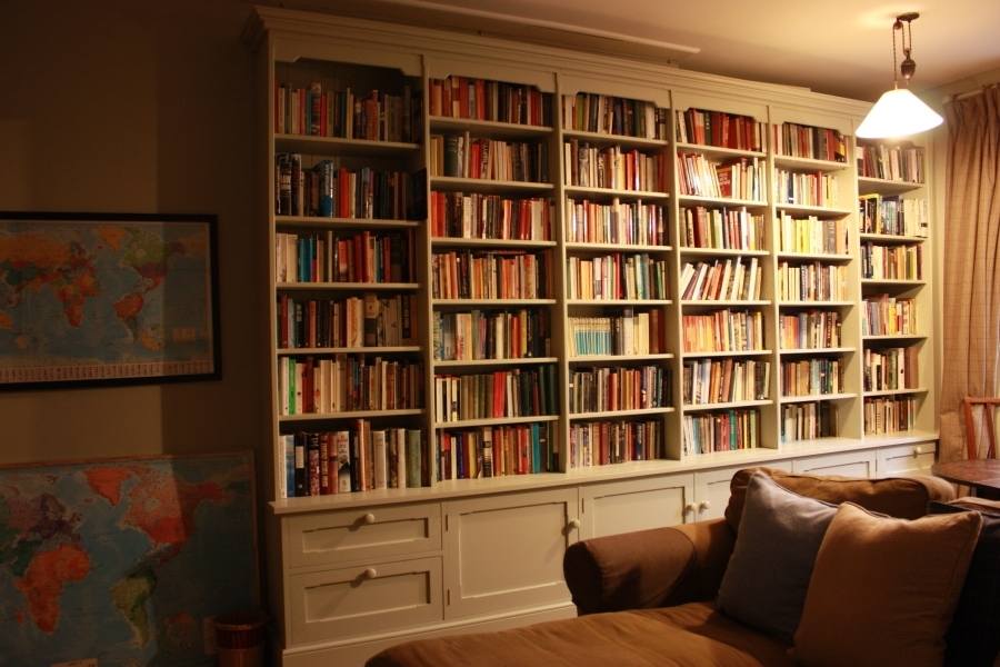 Newest Study Bookcases Pertaining To Studies Including Fitted Furniture, Bookcases And Panelling (View 6 of 15)
