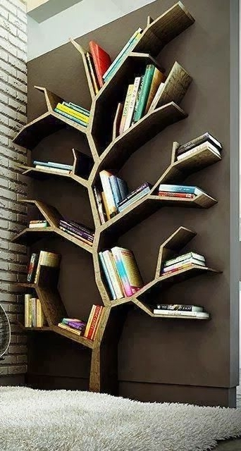 Newest Tree Bookcases Pertaining To 11 Incredible Bookcases For People Who Really, Really Love Their (View 7 of 15)