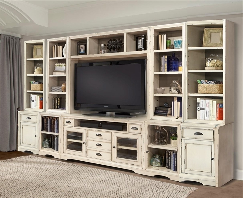 Newest Tv Book Case With Regard To 10 Piece 63 Inch Tv Console Modular Bookcase Home Entertainment (View 9 of 15)