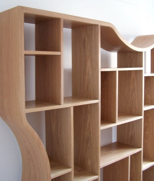Newest Wall Shelves Design: Best Collection Wall Shelving Units Uk Tall Inside Contemporary Oak Shelving Units (View 5 of 15)