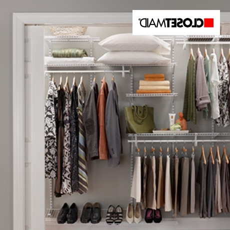 Newest Wardrobes Hangers Storages With Regard To Closet Storage & Organization (View 6 of 15)