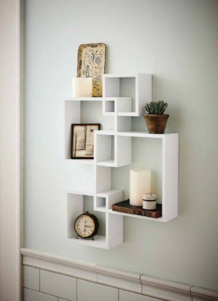 Newest Wooden Wall Shelves Within Cube Wall Decor 1000 Ideas About Cube Shelves On Pinterest Wooden (View 7 of 15)
