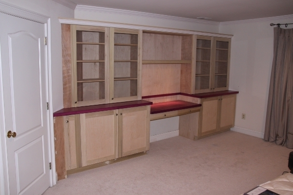 Newest Yeager Woodworking – Cabinetry And Home Improvements In Desk With Matching Bookcases (View 14 of 15)