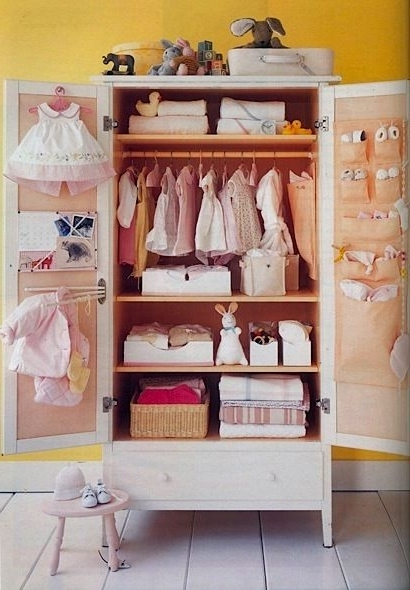 Next Project! Need To Covert Our Armoire Into Our Baby Boy's With Regard To Trendy Wardrobes For Baby Clothes (View 2 of 15)