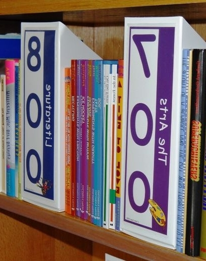 Non Fiction Shelf Signs – Non Fiction Signs Only (View 12 of 15)