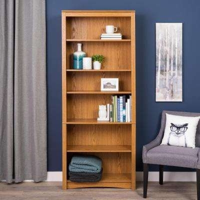 Oak – Bookcases – Home Office Furniture – The Home Depot In Newest Oak Bookcases (View 5 of 15)
