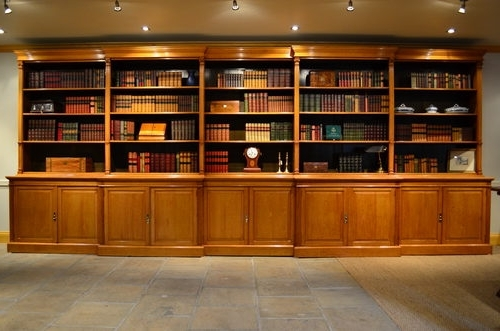 Oak Bookshelves In Best And Newest Bookcases Ideas: Choice For Library Bookcases Design Ideas Library (View 9 of 15)
