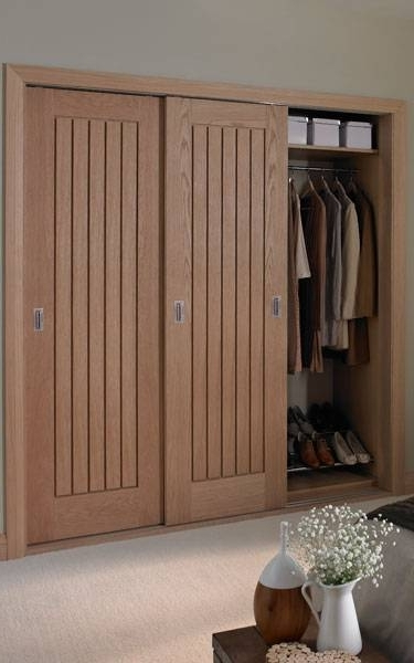 Oak For Solid Wood Fitted Wardrobes Doors (View 9 of 15)