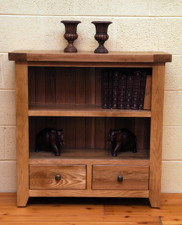 Oak Furniture Lancashire Dorset Small Bookcase, Living Room Pertaining To Most Popular Small Bookcases (View 8 of 15)