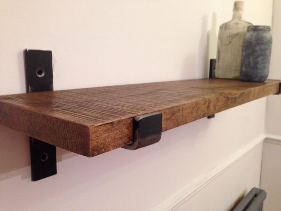 Oak Shelves (Gallery 8 of 15)