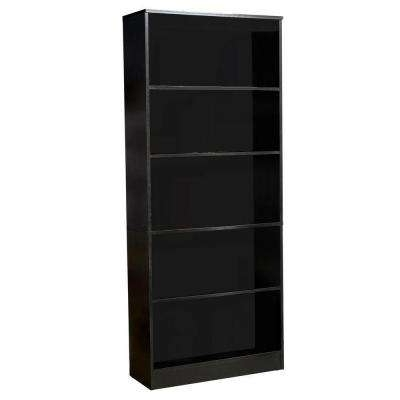 Office Depot Bookcases Within Well Liked Black – Bookcases – Home Office Furniture – The Home Depot (Gallery 12 of 15)
