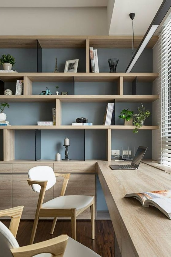 Office Space Design, Office Inside Well Known Study Shelving Ideas (View 2 of 15)
